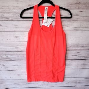 Fabletics Deleta Smooth operator tank orange L